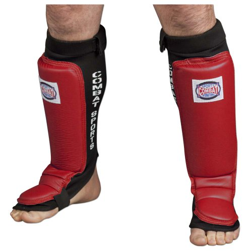 Combat Sports MMA Training Instep Shin Guards