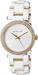 Michael Kors Watches Delray Acetate 3 Hand Watch