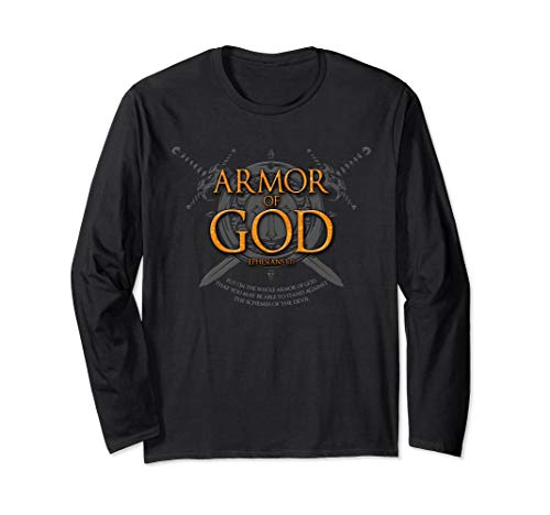 Armor of God Christian Gift Long Sleeve T-Shirt Clothing
