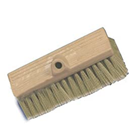 Mr. LongArm 0488 Marine Bi-Level Flow-Thru Stiff Tan Brush