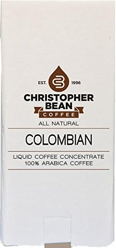 COLOMBIAN COLD BREW OR HOT COFFEE CONCENTRATE BAG IN BOX 30:1 by Christopher Bean Coffee