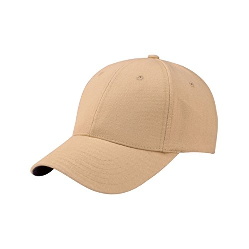 [Hats & Caps Shop Mega Flex Low Profile | (Uns) Twill Fitted Cap - By TheTargetBuys | (KHAKI)] (Eskimo Hat Costume)
