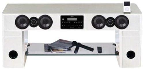 Nesx Ne778ib4 Meuble Tv Hifi Amplifie Blanc Amazon Fr Tv Video
