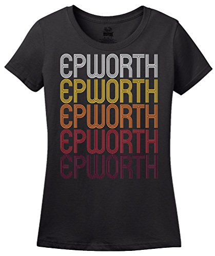 Epworth, IA | Retro, Vintage Style Iowa Pride T-shirt