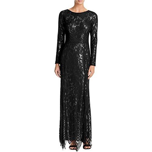 js boutique black lace dress - 8
