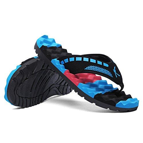 Zapatillas Blue Lona de Qianliuk Hombre Bajas Sky Sdl668 Hqdg0