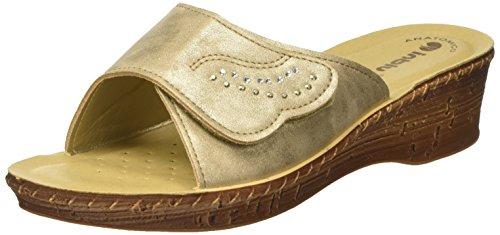 INBLU Damen 26000057 Flip-Flops Beige (Sabbia)