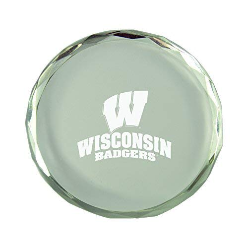 Crystal Paper Weight LXG Inc University of Wisconsin