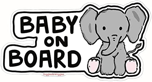 Giggles & Wiggles Baby on Board Elephant...