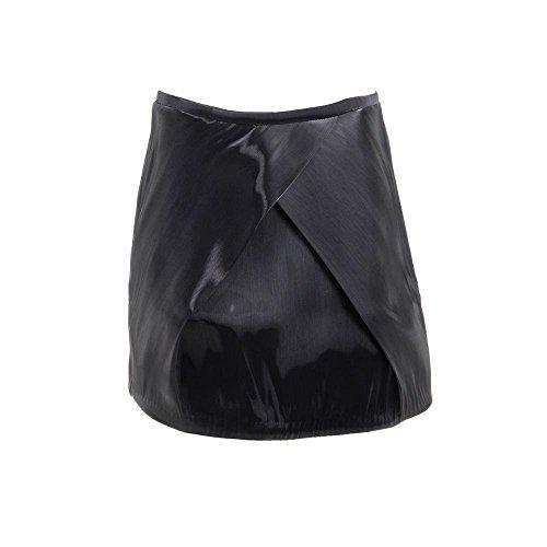Zimmermann Womens Juniors Independent Mirror Iridescent Mini Tulip Skirt Black 3 by Zimmermann
