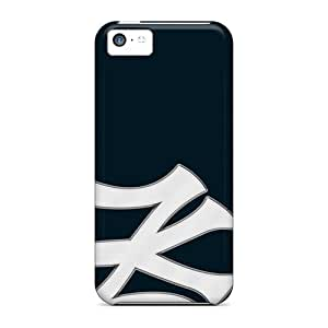 Durable Cases For The Iphone 5c- Eco-friendly Retail Packaging(new York Yankees)