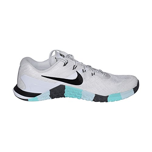 Womens Nike Black Green White 3 Dark Metcon Training Aurora Shoes Grey r6wqrdA