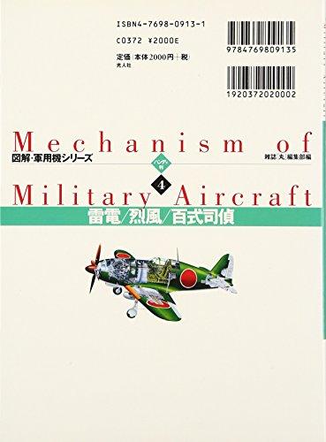Mechanism of Military Aircraft No. 4 - Raiden - Reppu - Type 100 Reconnaissance Plane
