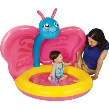 Butterfly Baby Pool - Play Day Baby Swimming Pool