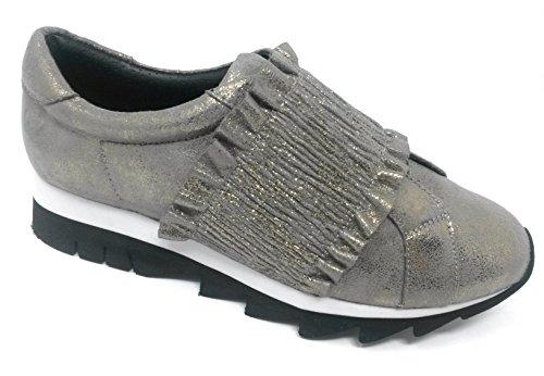 Mujer Sintético para Silber EU Khaki Weber de 39 Zapatillas Gerry HXwqa7H