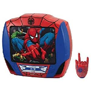 "Spider-Man Spiderman 13"" TV DVD TV/DVD Combo with Remote"