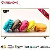CHANGHONG 55 Inch 4K Ultra HD LED Smart TV - U55H6