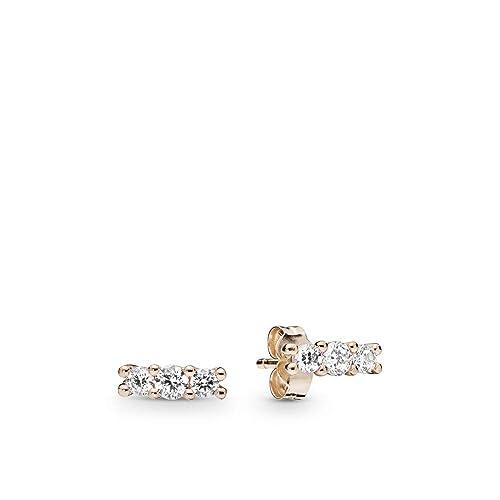 7d56815da PANDORA Sparkling Elegance PANDORA Rose Earrings - 280725CZ: Amazon.ca:  Jewelry