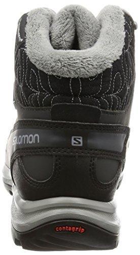 Salomon L39059100 - Botas de senderismo Mujer Negro (Black /             Asphalt /             Flashy-X)