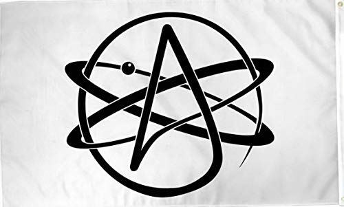 Kaputar Atheist 3x5ft Poly Flag - Agnostic - Non-Religious - Science Belief | Model FLG - 6520