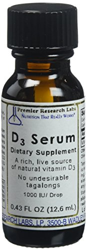 Premier Research Labs Vitamin D3 Liquid Supplement