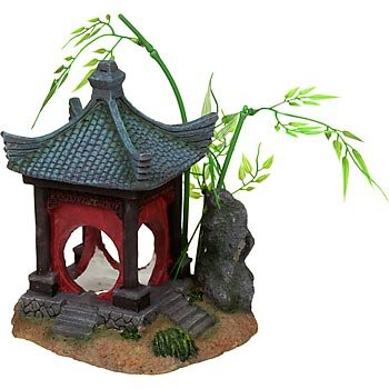 Petco Asian Gazebo Aquatic Decor Amazon Co Uk Pet Supplies