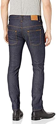 Nudie Jeans Mens Thin Finn Jean In Dry Tight Broken