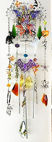 (Kirks Folly Witch's Brew Pumpkin Patch Wind Chime - HALLOWEEN)