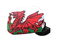 Wales Country Flag Car Side MIRROR COVERS .. 2 in a Pack ..New