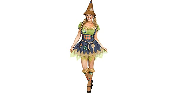 Amazon.com: Fun World - Disfraz de espantapájaros para mujer ...