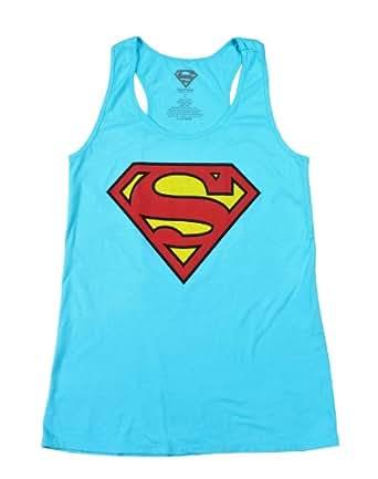 DC Comics Superman Logo Girls Tank Top Size : Medium