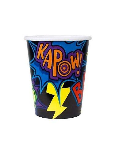 Creative Converting - Super Hero Fun 9 oz. 3D Paper Cups