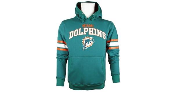 d89baaff6 Majestic de fútbol americano Miami Dolphins NFL Jersey-camiseta sudadera  con capucha