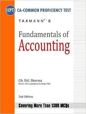 cpt fundamental accounts 100 question