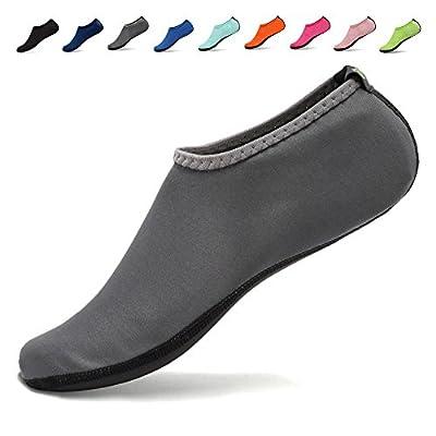 CIOR Womens Water Shoes Barefoot Quick-Dry Kid Aqua Socks for Beach Swim Surf Yoga 3rd Upgraded