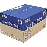 コピー機、各種プリンターと用途が広いマルチPPC用紙 白色度90%。王子製紙 コピー用紙 スーパーホワイトライラック A4 500枚×5冊