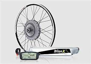 BionX S350RL (S-48Volt, L-6.4 Amp Hour Battery, R-Rear Rack, 20in Black Rim)