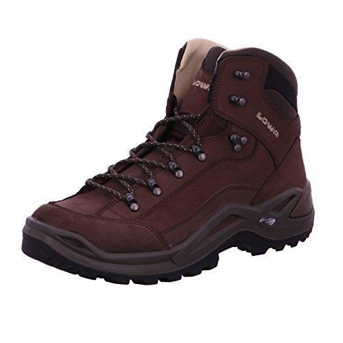 1e0810f1124 LOWA RENEGADE LL MID 310845 0442 adulte (homme ou femme) Chaussures de  randonnée