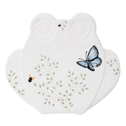 - Lenox 857689 Butterfly Meadow Fig Frog Trivet