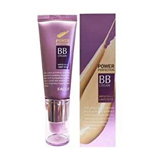 [The Face Shop] Face It Power Perfection Bb Cream #1 Light Beige 20ml Small Pump