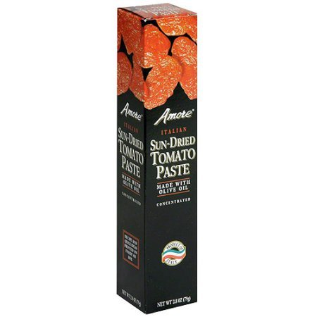 Price comparison product image Amore Sun-Dried Tomato Paste,  2.8 oz (Pack of 12)