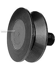 "Smith Bearing VCR-2-1/2-E Track Roller, V-Groove, Eccentric, 2-1/2"" Diameter"