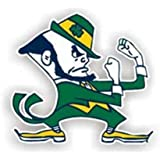 Notre Dame Fighting Irish Auto Magnet - 12""