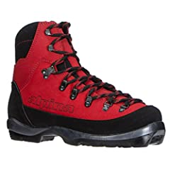 The Alpina Wyoming NNN-BC backcountry touring boots are designed to get you out in the backcountry with control and support. The Thinsulate insulated durable and waterproof full leather uppers provide great support and protection against the ...
