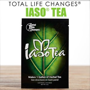 IASO Tea 4-Pack – All Natural Weight Loss Detox Cleanse Diet – 8 Tea Bags/1 Month Supply **In Stock**