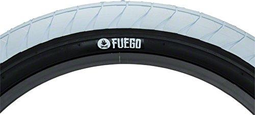 Bmx Street Tires - Flybikes Fuego Tire 20 x 2.3 White/Black