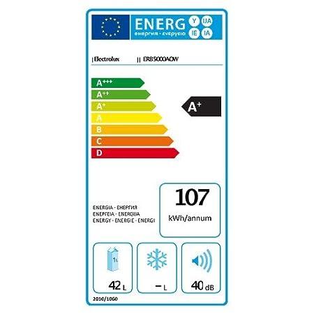 Electrolux Nevera de mesa ERB5000AOW Clase A + capacidad 36 l) Color Blanco: Amazon.es: Hogar
