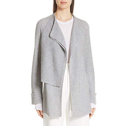 (ヴィンス) VINCE レディース トップス カーディガン Drape Front Wool & Cashmere Cardigan [並行輸入品]