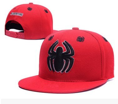 Image Unavailable. Image not available for. Color  Marvel Spider-Man Logo  Fashion Unisex Snapback adjustable Baseball Cap Hip Hop hat ... 5717e2f492be