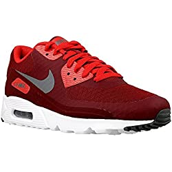Nike Men's Air Max 90 Ultra Essential, Team Red/Dark Grey, 9 D(M) US